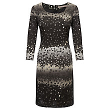 Buy Sandwich Satin Dress, Grey Online at johnlewis.com