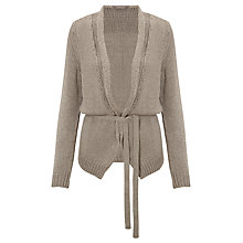 Buy Sandwich Textured Cardigan, Grey Online at johnlewis.com