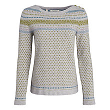 Buy Seasalt Endurance Jumper, Sevenstones Silver Online at johnlewis.com