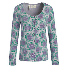Buy Seasalt Whistle Cardigan, Posy Twirl Silver Online at johnlewis.com