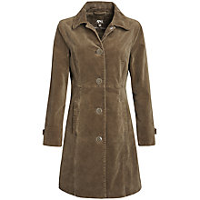 Buy Seasalt Woodview Coat, Loam Online at johnlewis.com