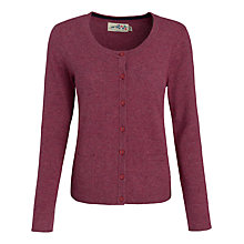 Buy Seasalt Grey Seal Cardigan, Cherry Online at johnlewis.com