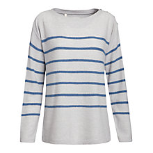 Buy Seasalt Capstan Jumper, Silver Online at johnlewis.com