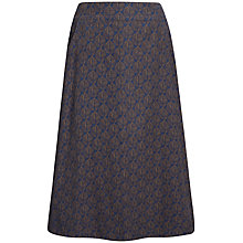 Buy Seasalt White Sands Skirt, Beach Leaf French Navy Online at johnlewis.com