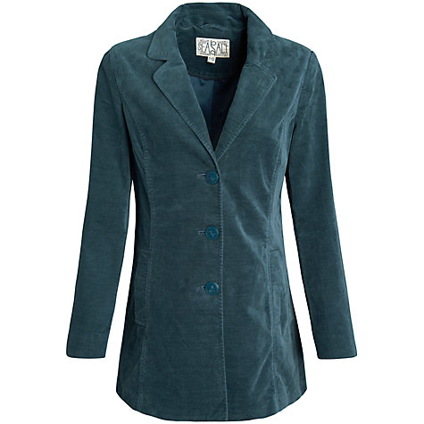 Buy Seasalt Kizzie Coat, Peacock Online at johnlewis.com