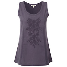 Buy White Stuff Katy Vest Top, Dark Periwinkle Online at johnlewis.com