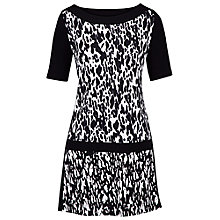 Buy Betty Barclay Dalmatian Print Tunic Dress, Black/Cream Online at johnlewis.com