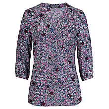 Buy Betty Barclay Star Print Shirt, Red/Blue Online at johnlewis.com