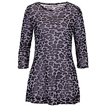 Buy Betty Barclay Animal Print Tunic, Black/Grey Online at johnlewis.com