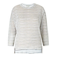 Buy Whistles Lauren Linen Striped Top Online at johnlewis.com