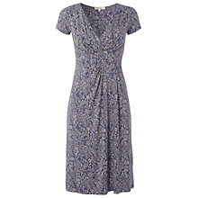 Buy White Stuff Camomile Tea Dress, Dark Periwinkle Online at johnlewis.com