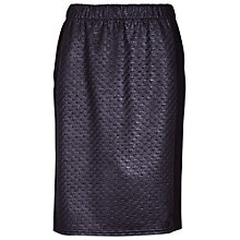 Buy Betty Barclay Raffia Panelled Skirt, Black Online at johnlewis.com