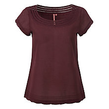 Buy White Stuff Pearl Top, Dark Red Plum Online at johnlewis.com