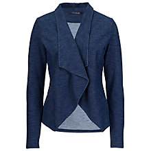 Buy Betty Barclay Denim Jersey Jacket, Light Blue Denim Online at johnlewis.com