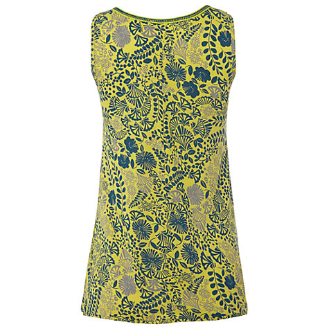 Buy White Stuff Tear Drop Vest, Zesty Lemon Online at johnlewis.com