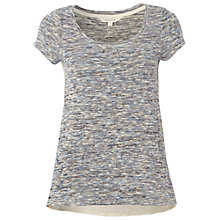 Buy White Stuff Meena Tee, Periwinkle Online at johnlewis.com