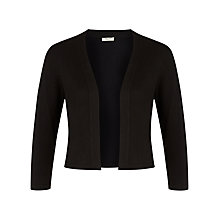 Buy Precis Petite Shrug, Black Online at johnlewis.com