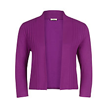 Buy Precis Petite Pleated Shrug, Berry Online at johnlewis.com