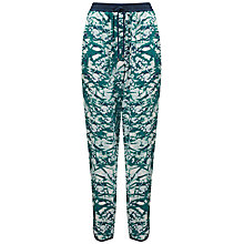 Buy Whistles Mimosa Floral Print Trousers, Multi Online at johnlewis.com