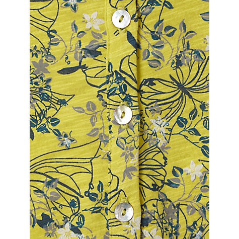 Buy White Stuff Short Sleeve Sugar Shirt, Zesty Lemon Online at johnlewis.com