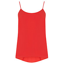 Buy Oasis Plain Dip Back Camisole Online at johnlewis.com