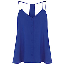 Buy Warehouse Button Through Cami Top Online at johnlewis.com