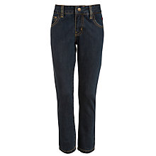 Buy Hackett London Boys' 5 Pocket  Denim Jeans, Indigo Online at johnlewis.com