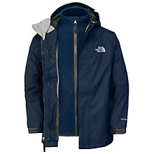 Buy The North Face Evolution Triclimate Jacket, Blue Online at johnlewis.com