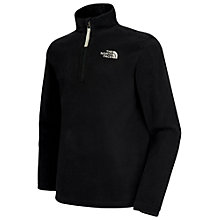Buy The North Face Glacier Zip Fleece, Black Online at johnlewis.com