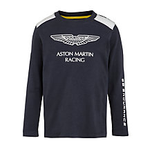 Buy Hackett London Boys' Aston Martin Racing T-Shirt Online at johnlewis.com