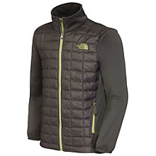 Buy The North Face Thermoball Hybrid Jacket, Grey Online at johnlewis.com