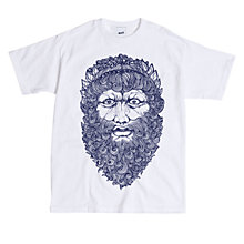 Buy Secret Store Zeus Exclusive Print T-Shirt, White Online at johnlewis.com