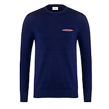 Buy Bellerose Dena Slim Fit Jumper, Navy Online at johnlewis.com