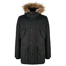 Buy Aigle Wolfcreeker Parka Jacket, Midnight Online at johnlewis.com