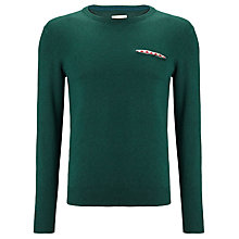 Buy Bellerose Dena Slim Fit Jumper, Dark Green Online at johnlewis.com