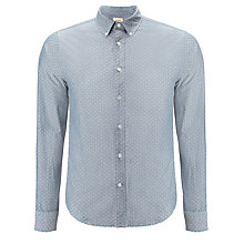 Buy Bellerose Worker Gamo Shirt, Blue Online at johnlewis.com