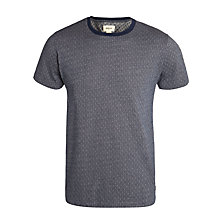 Buy Bellerose Farel Geometric Print T-Shirt, Dark Grey Online at johnlewis.com