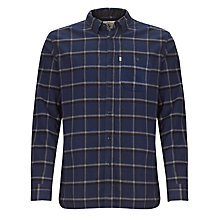 Buy Aigle Harvie Grid Check Long Sleeve Shirt, Midnight Online at johnlewis.com