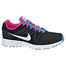 Buy Nike Women's Air Relentless 3 Running Shoes, Black/White Online at johnlewis.com
