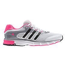 Buy Adidas Nova Cushion Women's Running Trainers, Grey/Pink Online at johnlewis.com