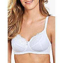 Buy Royce 1089 Olivia Bra, White Online at johnlewis.com