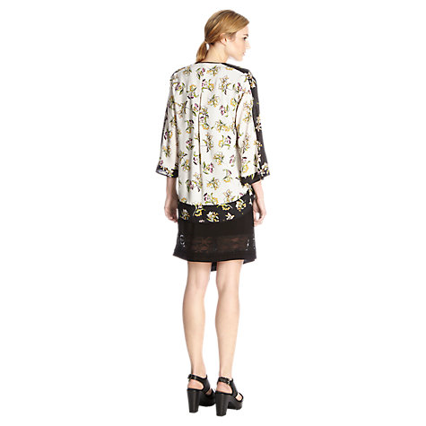 Buy Warehouse Printed Kimono Jacket, Multi Online at johnlewis.com