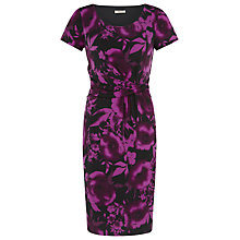 Buy Precis Petite Floral Print Dress, Multi Dark Online at johnlewis.com
