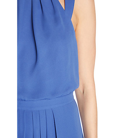 Buy Warehouse Halter Maxi Dress, Midnight Online at johnlewis.com