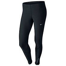 Buy Nike Women's Tech Running Tights, Black Online at johnlewis.com