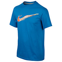 Buy Nike Speed Swoosh Boys' T-Shirt Online at johnlewis.com