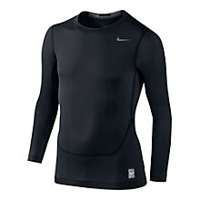 Buy Nike Pro Core Compression Boys' Long Sleeve Top Online at johnlewis.com