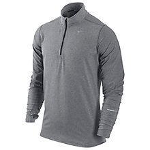 Buy Nike Element Half-Zip Running Top, Grey Online at johnlewis.com