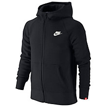 Buy Nike Brushed Fleece Full-Zip Hoodie Online at johnlewis.com