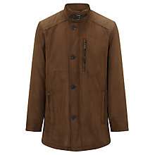 Buy Bugatti Microma Velour Jacket Cloned, Tobacco Online at johnlewis.com